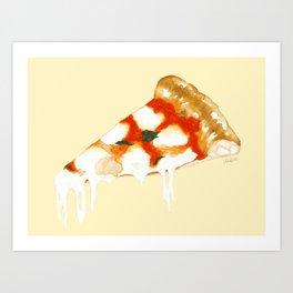 Pizza Napoletana Art Print