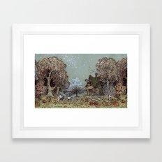 The Gardens of Astronomer Framed Art Print
