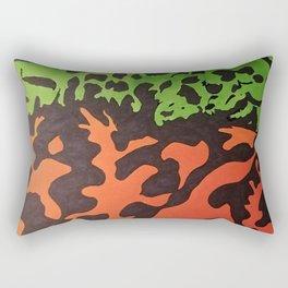 Fire Belly Rectangular Pillow