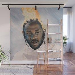 Kendrick Lamar Wall Mural