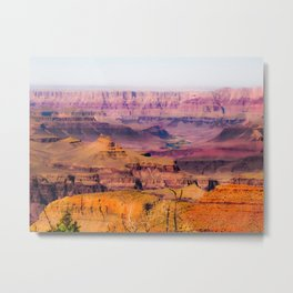 desert view at Grand Canyon national park, USA Metal Print