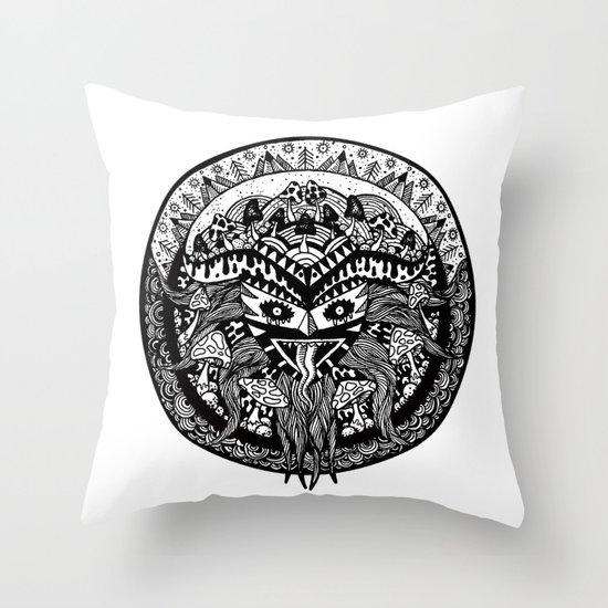 Shamandala Throw Pillow