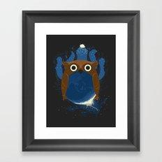 The Earth Owl Framed Art Print