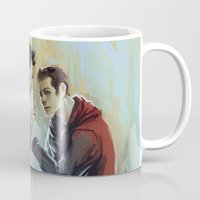 sterek Mugs featuring sterek by AkiMao