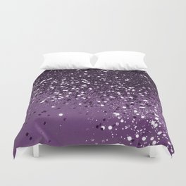 PURPLE Glitter Dream #1 #shiny #decor #art #society6 Duvet Cover
