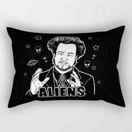 Aliens Guy (Giorgio Tsoukalos) Rectangular Pillow