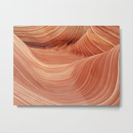 Wave Rock in the Coyote Buttes Metal Print