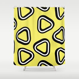 Soft Triangle Shower Curtain