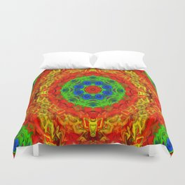 Sunshine in the Garden... Duvet Cover
