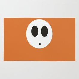 SHY GUY(ORANGE) Rug