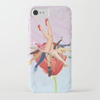 shoe iPhone & iPod Cases featuring Shoe Love by Wendy Ding: Illustration