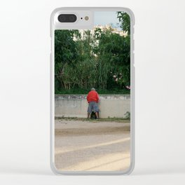 Public Enemy Clear iPhone Case