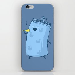 Singing In The Shower? iPhone Skin