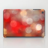 aperture iPad Cases featuring Red Bokeh by ThePhotoGuyDarren