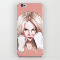 britney spears iPhone & iPod Skins featuring Britney Spears Shape Magazine by Eduardo Sanches Morelli