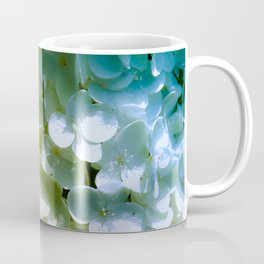Bride White & Mermaid Scales Coffee Mug