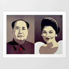 Dictators in Love: When Mao Met Imelda Art Print