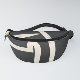 Abstract line art / Face Fanny Pack