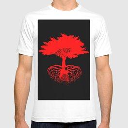 Heart Tree - Red T-shirt