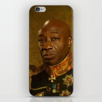 replaceface iPhone & iPod Skins featuring Michael Clarke Duncan - replaceface by replaceface
