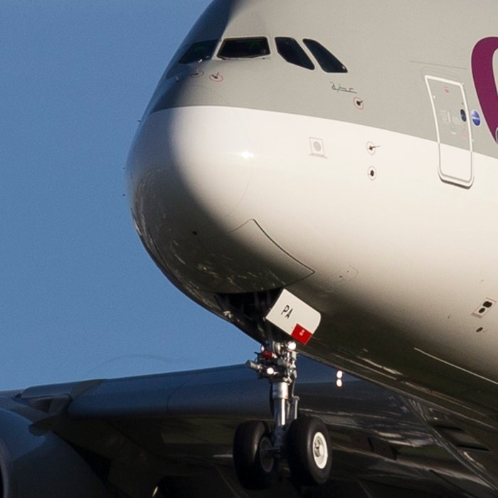 Qatar Airlines Airbus A380 Leggings
