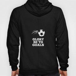 soccer footballer soccer district league goal Hoody