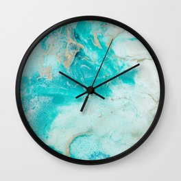 "Tides of Change | ""Sand Bar"" (1) Wall Clock"