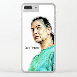 Joan Ferguson Clear iPhone Case
