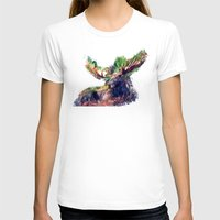 moose T-shirts featuring Moose by jbjart