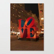 LOVE, NYC, New York Canvas Print