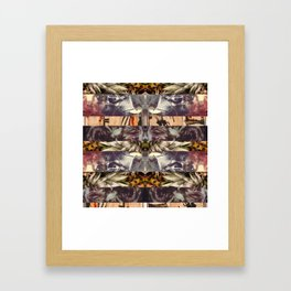 some point in, all direct north Framed Art Print
