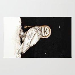 Starry Night Owl Rug