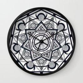 SevenRings Wall Clock