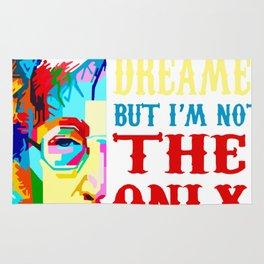 You may say i'm a dreamer but i'm not the only one t-shirt Rug
