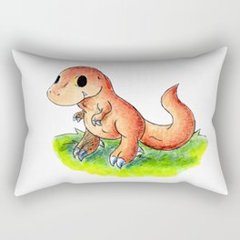 Little Rex Rectangular Pillow