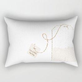 I'm a Little Tea Bag! Rectangular Pillow