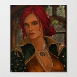 Triss Merrigold Canvas Print