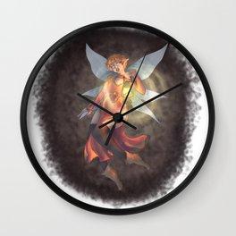 Lantern Fae Wall Clock