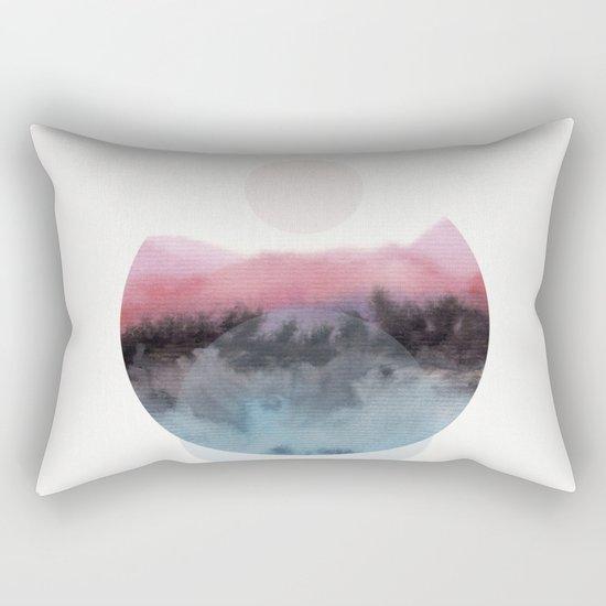 Watercolor S. 01 Rectangular Pillow
