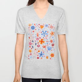 English Meadow Unisex V-Neck