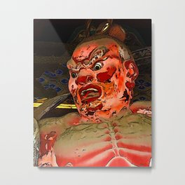 Demon Guardian Metal Print