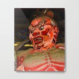 Demon Guardian Metal Print