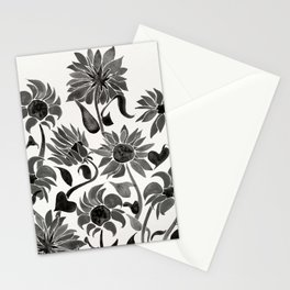 Sunflowers – Black Palette Stationery Cards