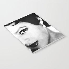 dorothy dandridge black & white photo Notebook