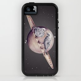 Space Sparrows iPhone Case