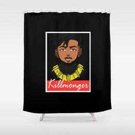 Erik killmonger Shower Curtain