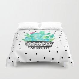 Pot Me A Cacti! Dots Duvet Cover