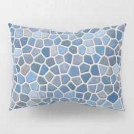 Blue Mosaic Pattern - Light Pillow Sham