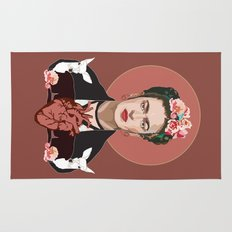 Frida Kahlo (Dark) Rug
