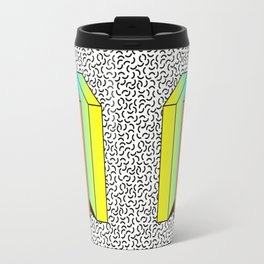 Memphis Style shaded Travel Mug